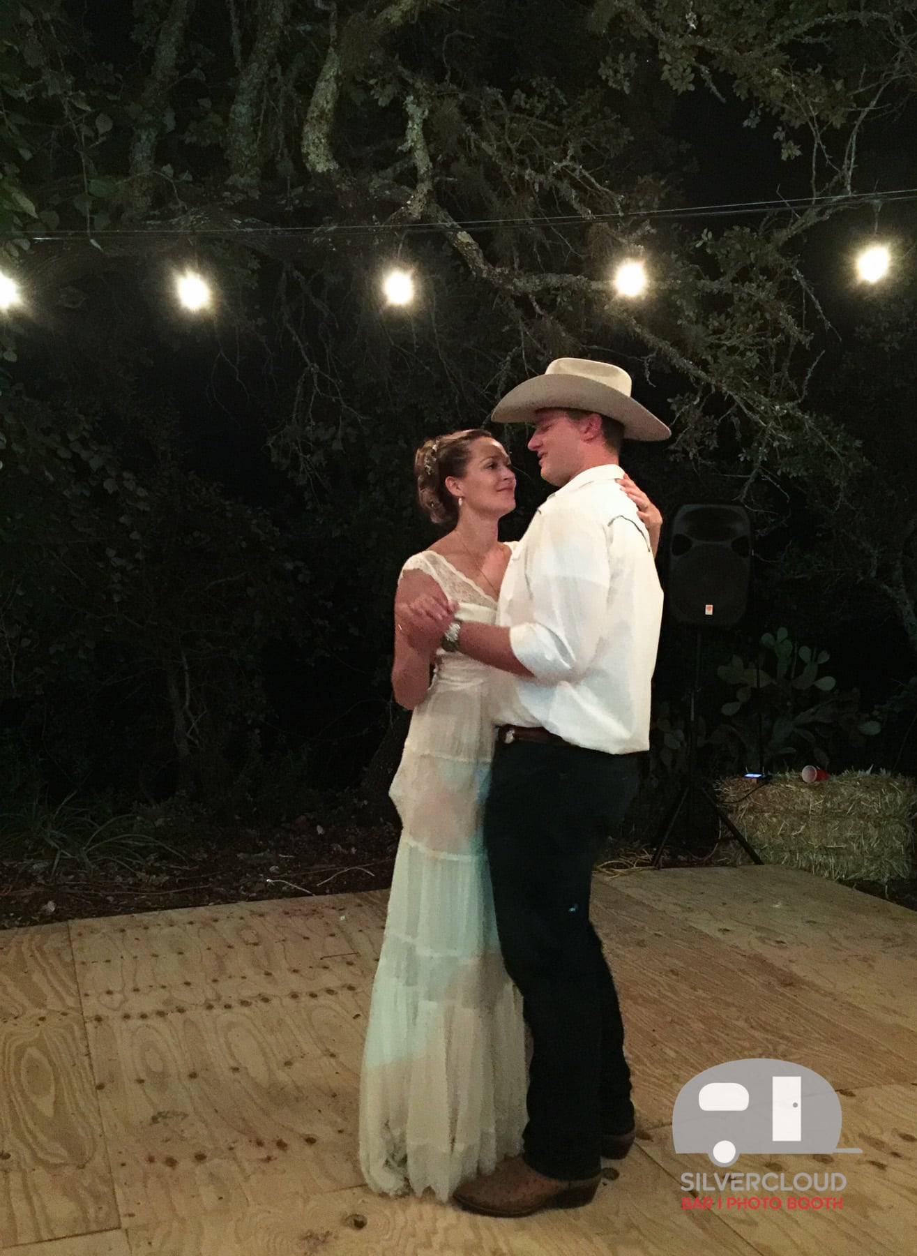 First Dance at Texas Ranch Wedding
