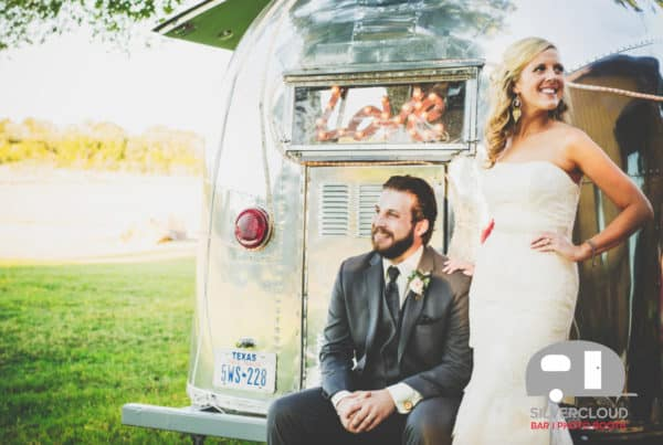 Airstream wedding photos