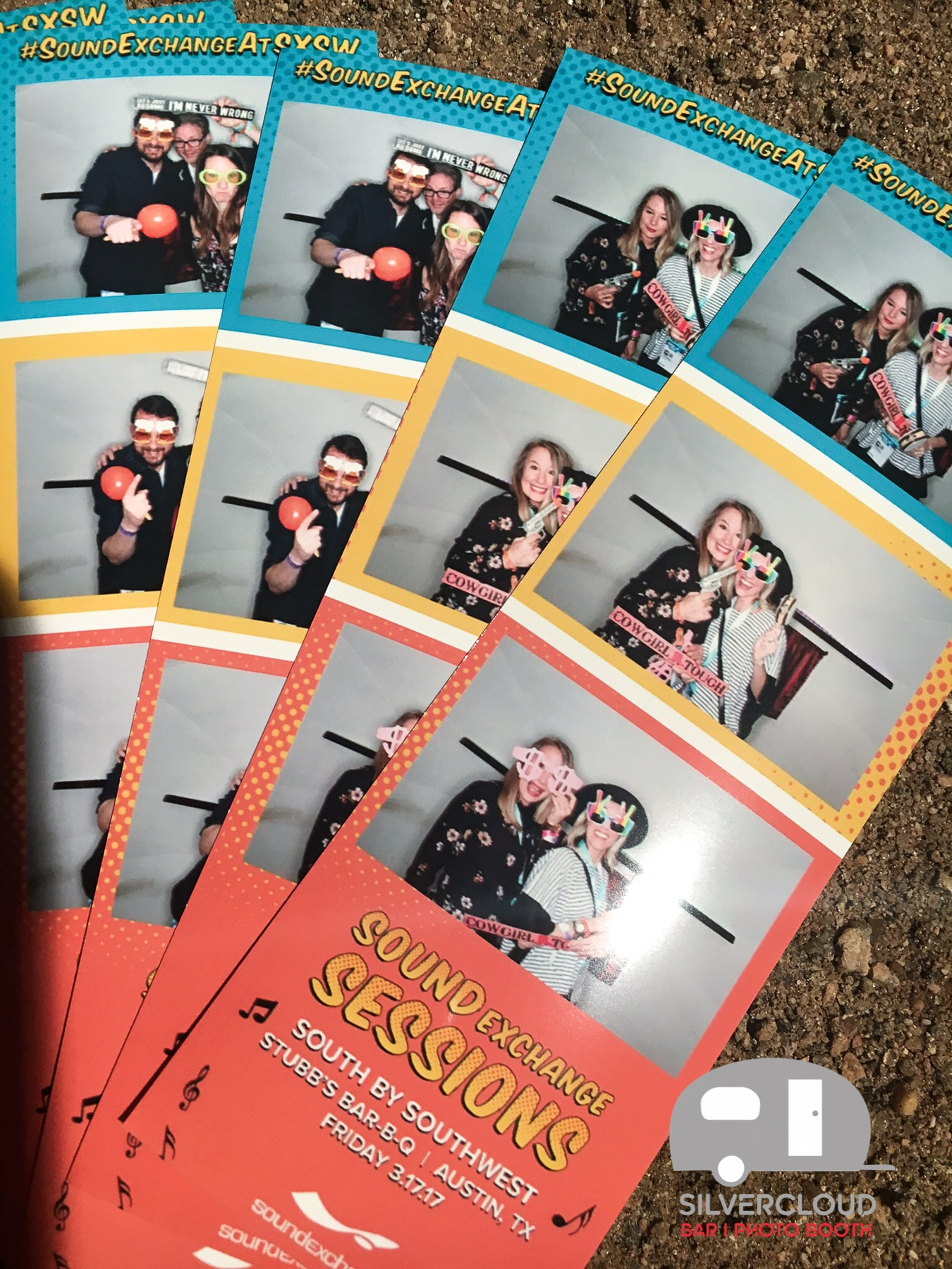 Branded photo print for SxSW Brand Activation by Silvercloud