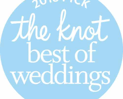 2018 KNOT Best of Weddings Award Winner