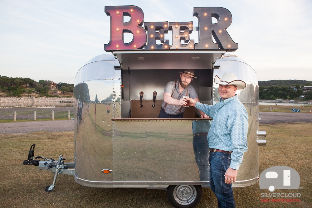 Second Serving Bar for Silvercloud Beer Tap Trailer