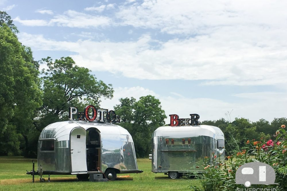 Silvercloud Photo Booth Trailer and Beer Tap Trailer