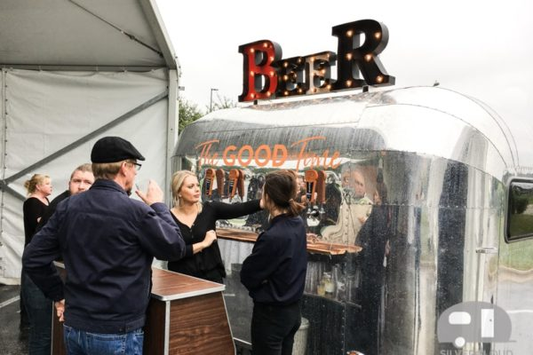 Silvercloud Beer Trailer at Activation