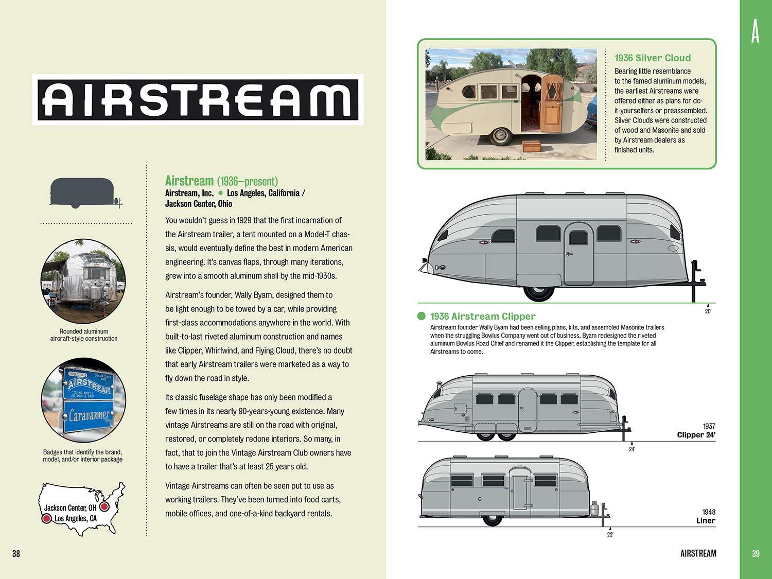 We're Featured in 'Field Guide To Vintage Trailers' Book