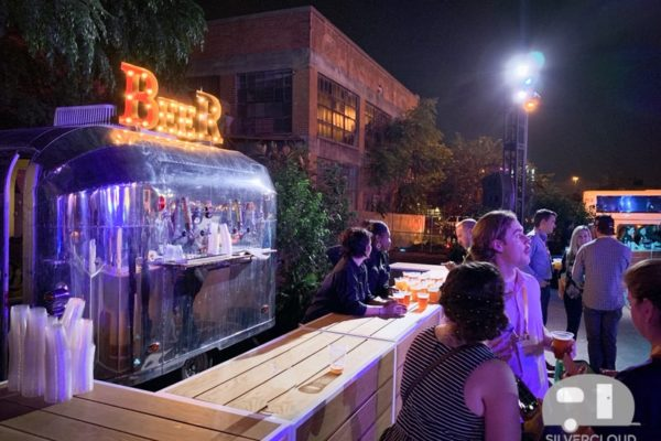 Silvercloud Beer Trailer at Gilley's Dallas