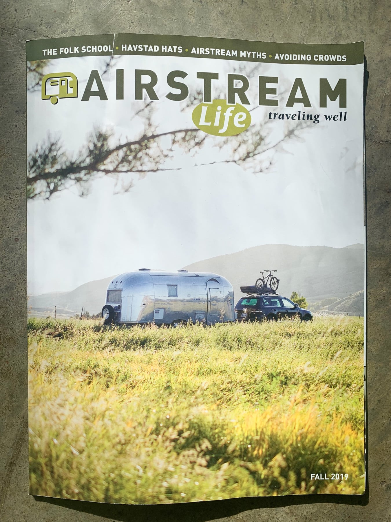 Fall 2019 Issue of Airstream Life